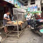 Hundefleisch-Verkäufer in China