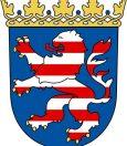 Baden mit Hund in Deutschland Wappen Hessen