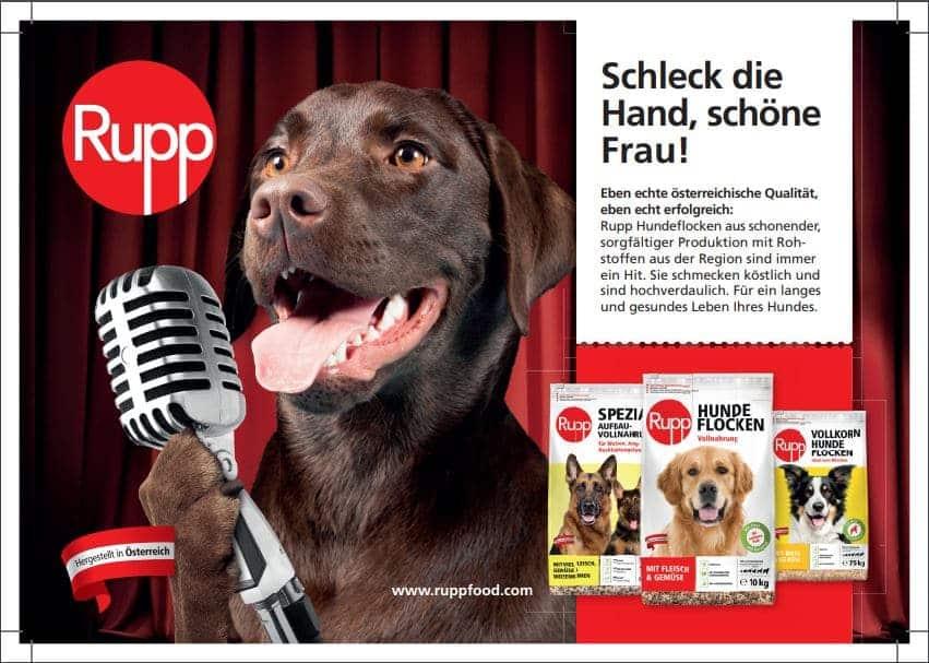 Tiernahrung bzw. Hundenahrung © Rupp
