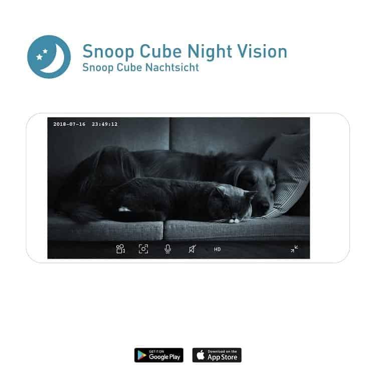 Die Snoop Cube Haustierkamera
