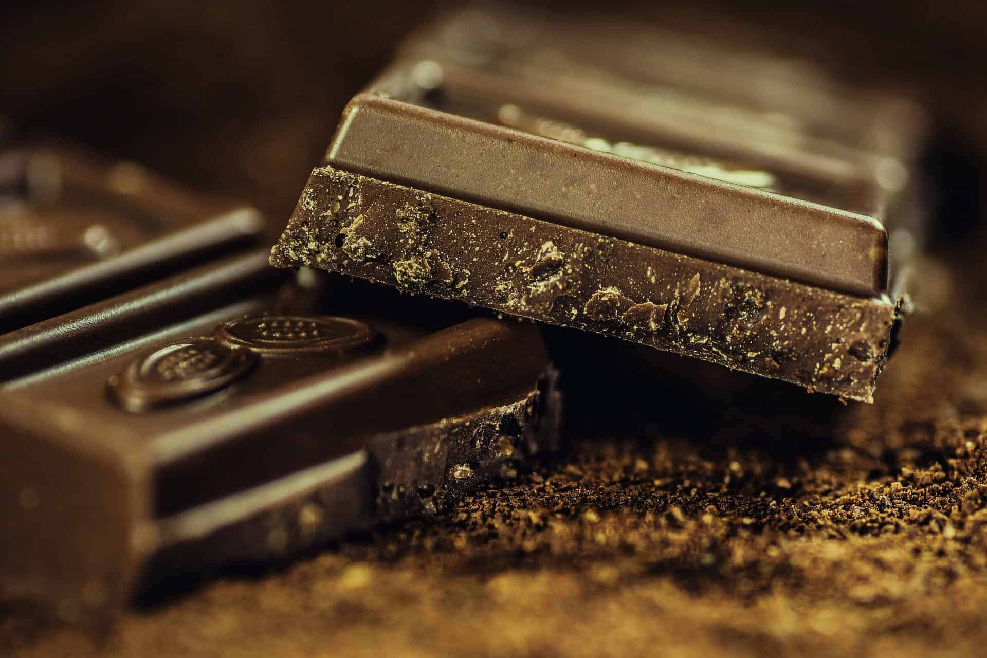Schokolade in Großaufnahme. /pixabay